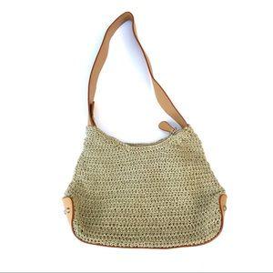 Vintage Cottagecore Giannini Leather Shoulder Bag
